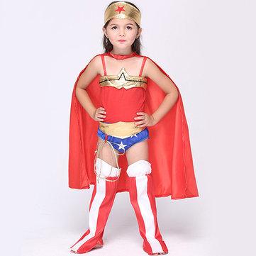Traje de cosplay de fantasía de Super Hero