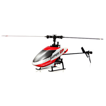 Walkera 6ch súper cp 3d flybarless de 3 ejes-giroscopio rc helicóptero bnf