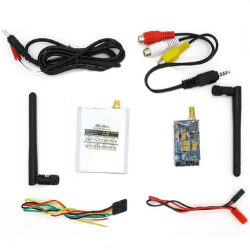 Boscam FPV 5.8G 400mW AV Receiver RC305 with Transmitter TS353