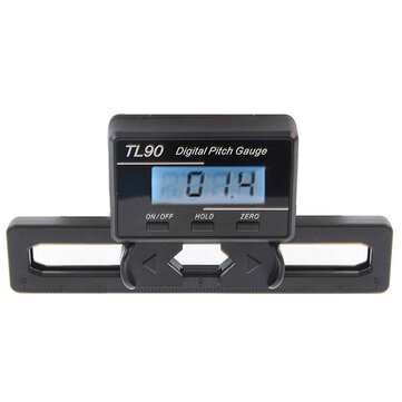 TL90 LCD Digital Pitch Gauge For ST250-800 Flybarless Helicopter
