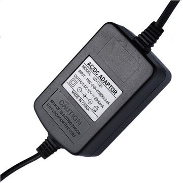 DC 12V 2A Power Supply Adapter Adaptor For Security Camera Lamp etc