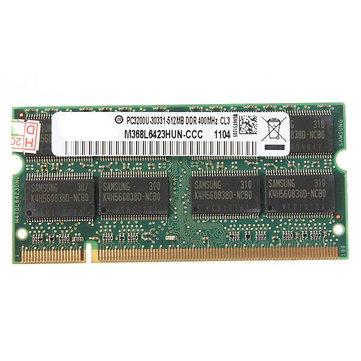 512MB DDR-400 PC3200 Dizüstü Bilgisayarı (SODIMM) Bellek RAM KIT 200-pinli