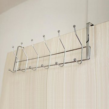 Stainless Steel 12 Hooks Storage Hat Coat Towel Bathroom Door Hanger Sale Banggood Com Sold Out Arrival Notice Arrival Notice