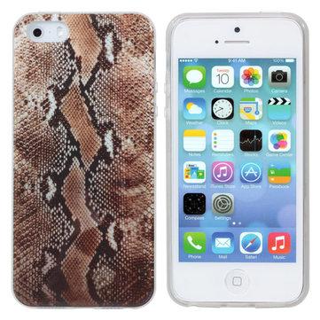 Ốp lưng họa tiết Serpentine Soft Ốp lưng TPU cho iPhone 5 5s SE