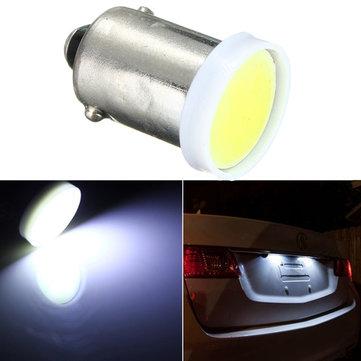 12 V Super White COB BA9S Chip 2W Mobil LED Bulb Trailer Mobil Interior Cahaya
