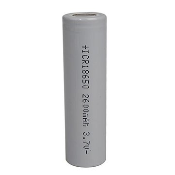 18650 Lithium Battery 2600mah 3.7V Rechargeable Battery