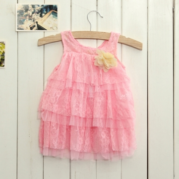 How can I buy Newborn Toddlers Baby Girls Summer Layered Dress Princess Party Lace Tutu Dress with Bitcoin