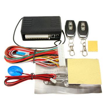 Universal Car Remote Control Central Kit Door Lock Locking Keyless Entry System