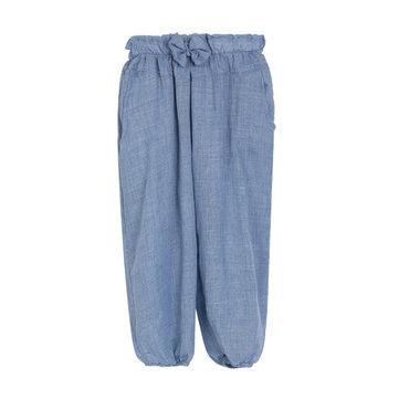 बेबी हेमप फाइबर ब्लेंड पैंट लघु वेंटिलेट ग्रीष्मकालीन कूल नीचे