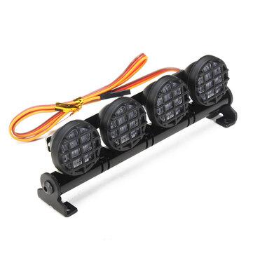 AUSTAR LED Light Aluminum Alloy Frame For CC01/D90/SCX10/4WD RC Car