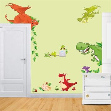 DIY Removable Dinosaur Park Decal Home Kids Bedroom Decor Wall Sticker  Wallpaper