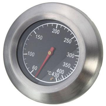 Stainless Steel Thermometer Barbekyu BBQ Perokok Grill Suhu Gauge 60-430