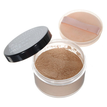 Smink Cosmetic Mineral Face Skin Loose Powder Foundation