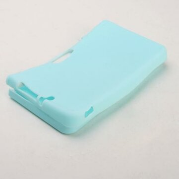 Red Silicone Skin Case For Nintendo DSi NDSi LL XL new